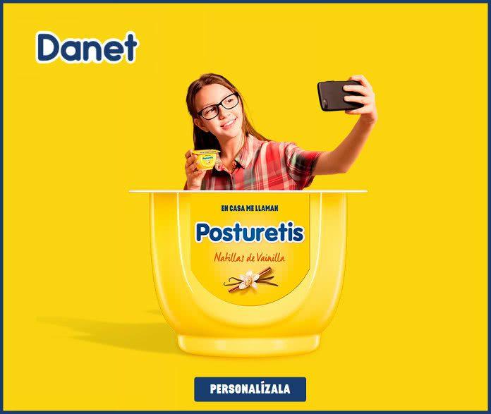 Personaliza GRATIS tu etiqueta danet.