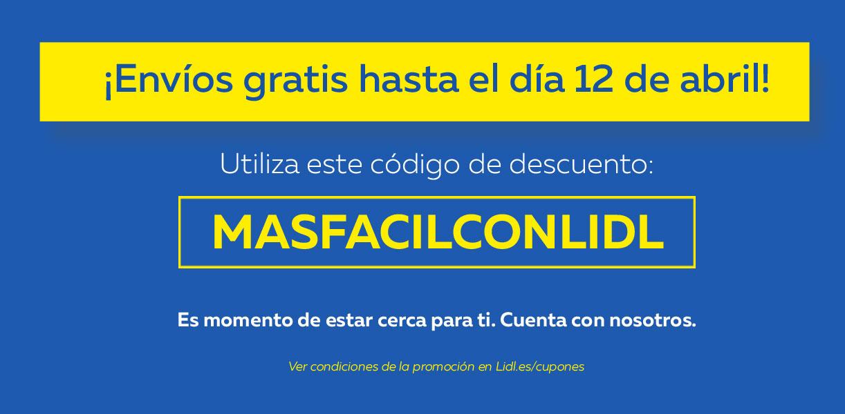 Vuelven gastos de envío GRATIS hasta el 12 de abril con 50€ de compra