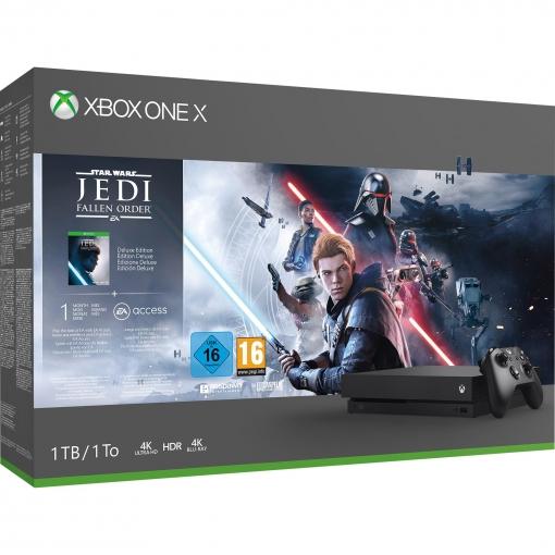 Xbox One X 1TB con Star Wars Jedi : Fallen Order