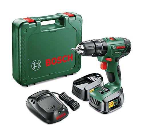 Taladro Bosch con 2 baterías solo 89.8€