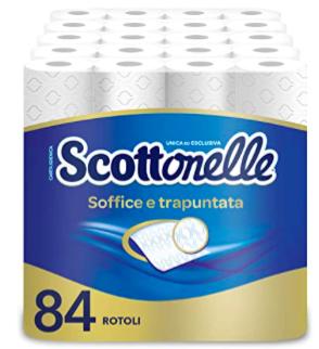Scottonelle - Papel higiénico de 14 paquetes, 6 rollos por paquete
