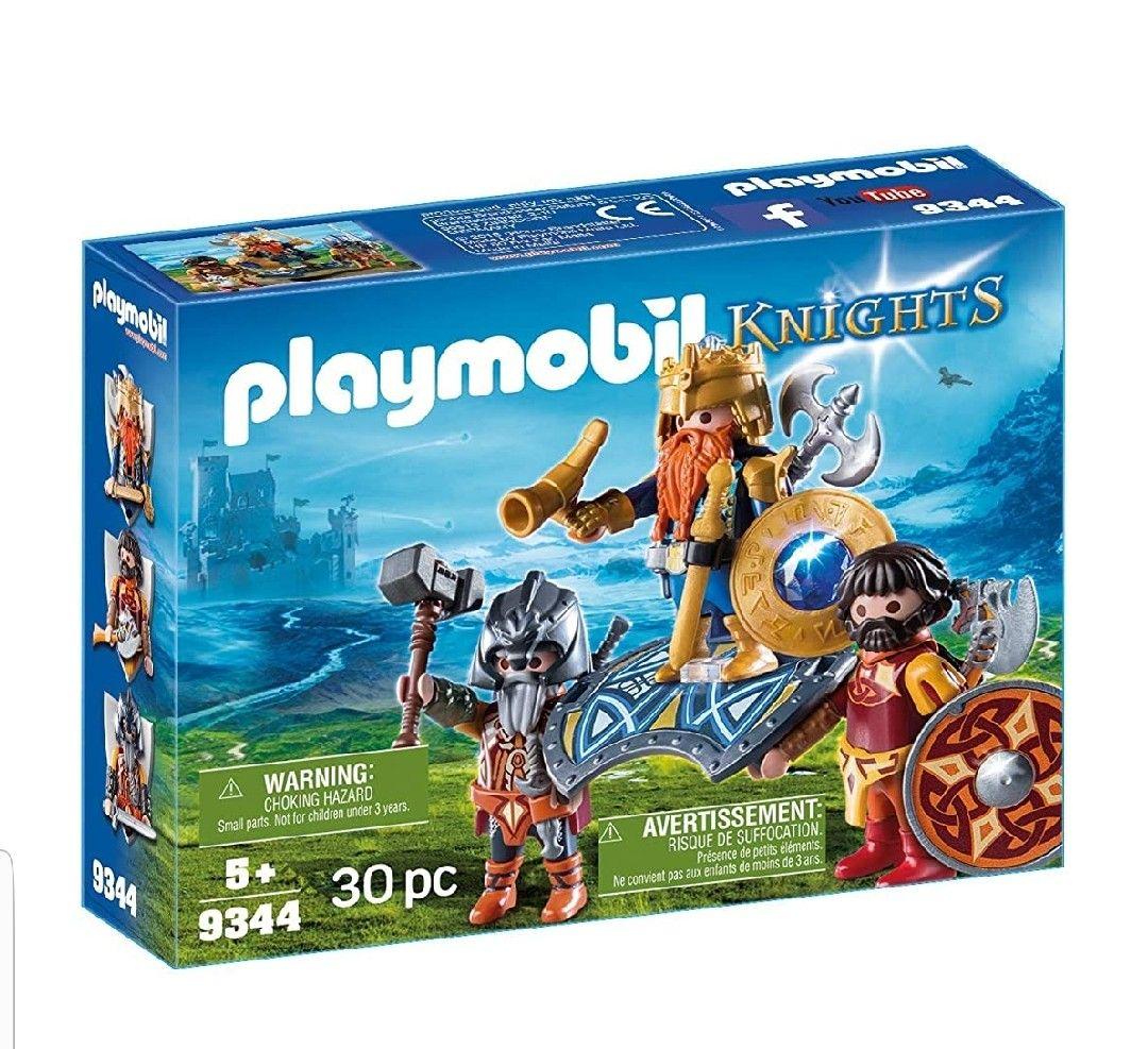 Playmobil- Rey de los enanos.