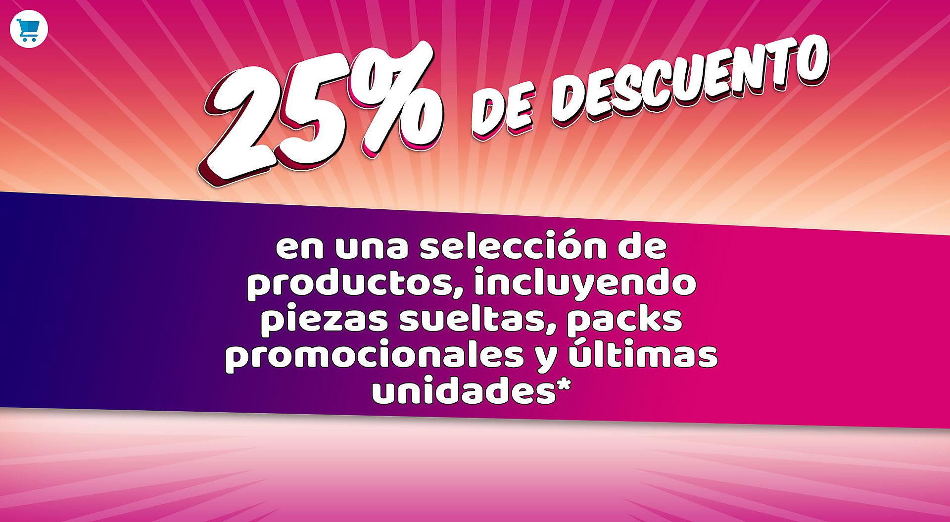 Descuento del 25% en Playmobil.es