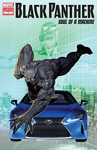Recopilación Black Panther: Soul Of A Machine (2017) (Kindle Gratis) [Inglés]