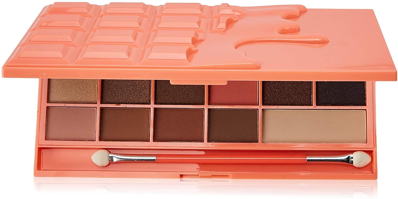 2 Paletas de sombras Chocolate and Peaches de I Heart Revolution