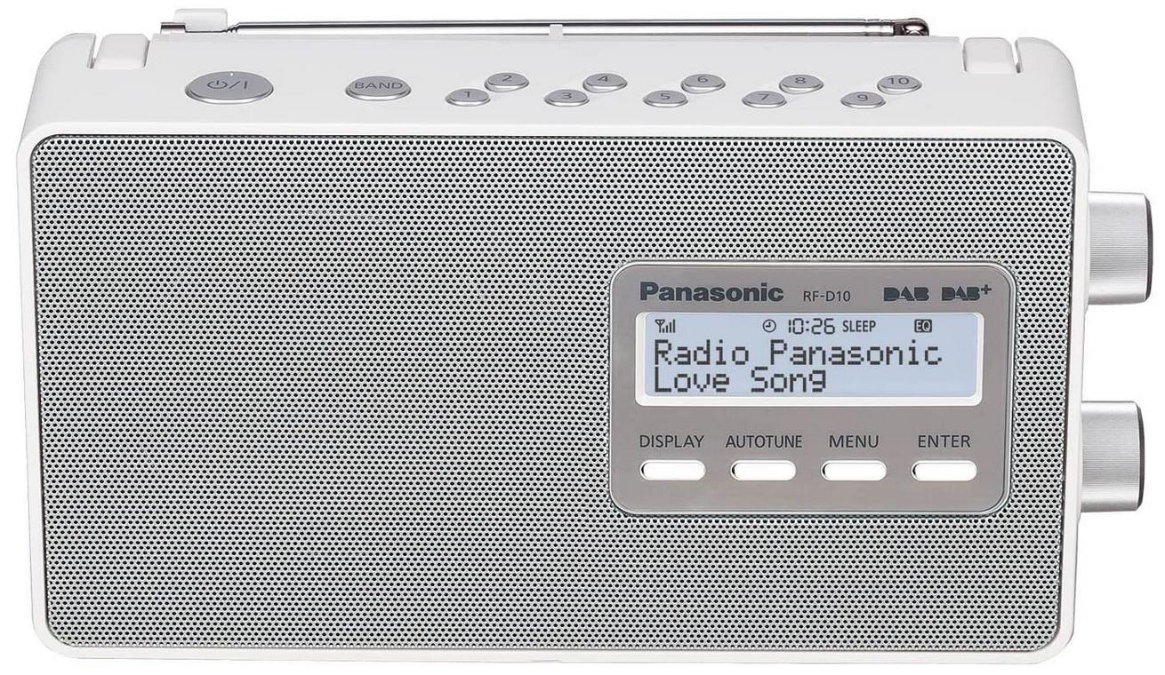 RADIO Panasonic RF-D10 (Dab + FM RDS) (REACO)