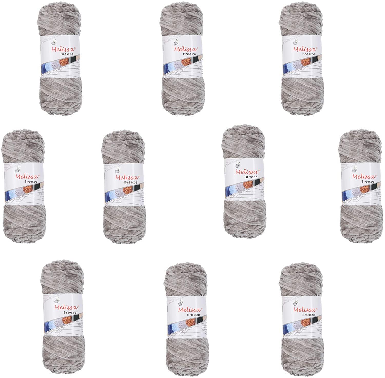 10 ovillos de color gris 100g cada uno (Vendedor externo)
