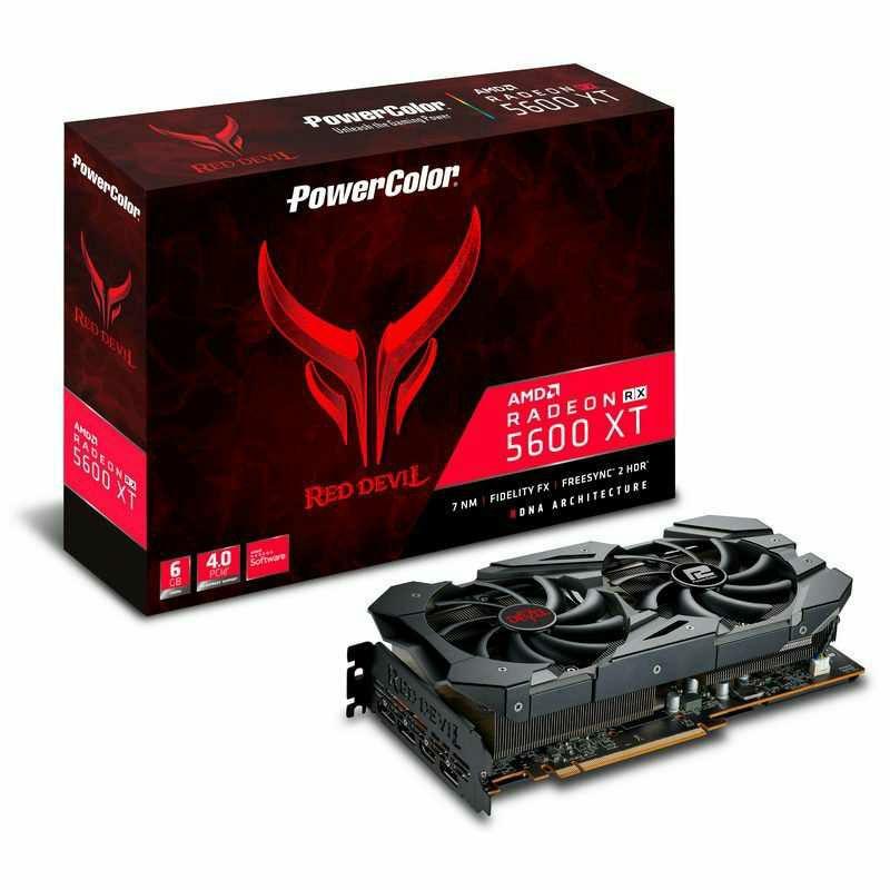 PowerColor Red Devil RX 5600 XT 6GB GDDR6+dos juegos