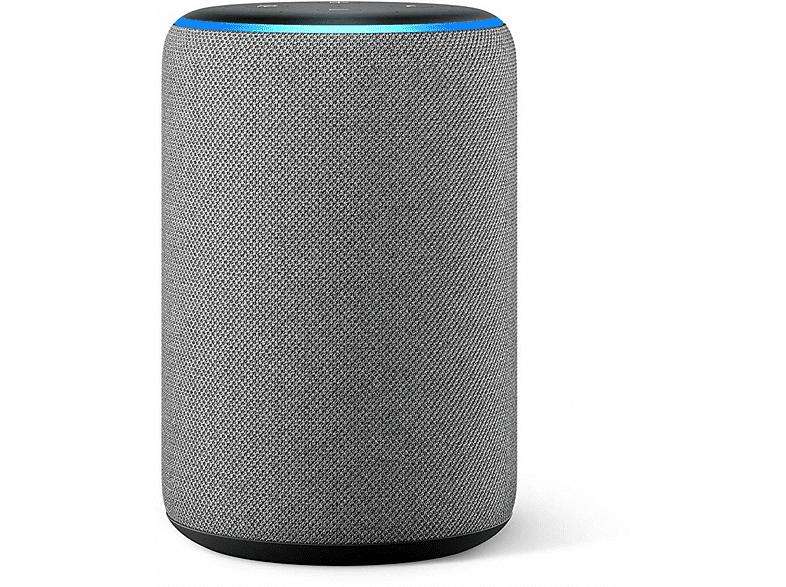Altavoz inteligente con Alexa - Amazon Echo (3ª Gen), Sonido de alta calidad, Controlador de Hogar