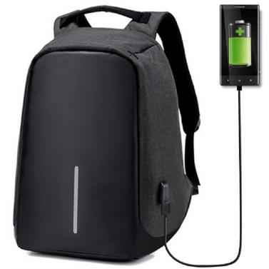 Mochila Antirrobo con carga USB