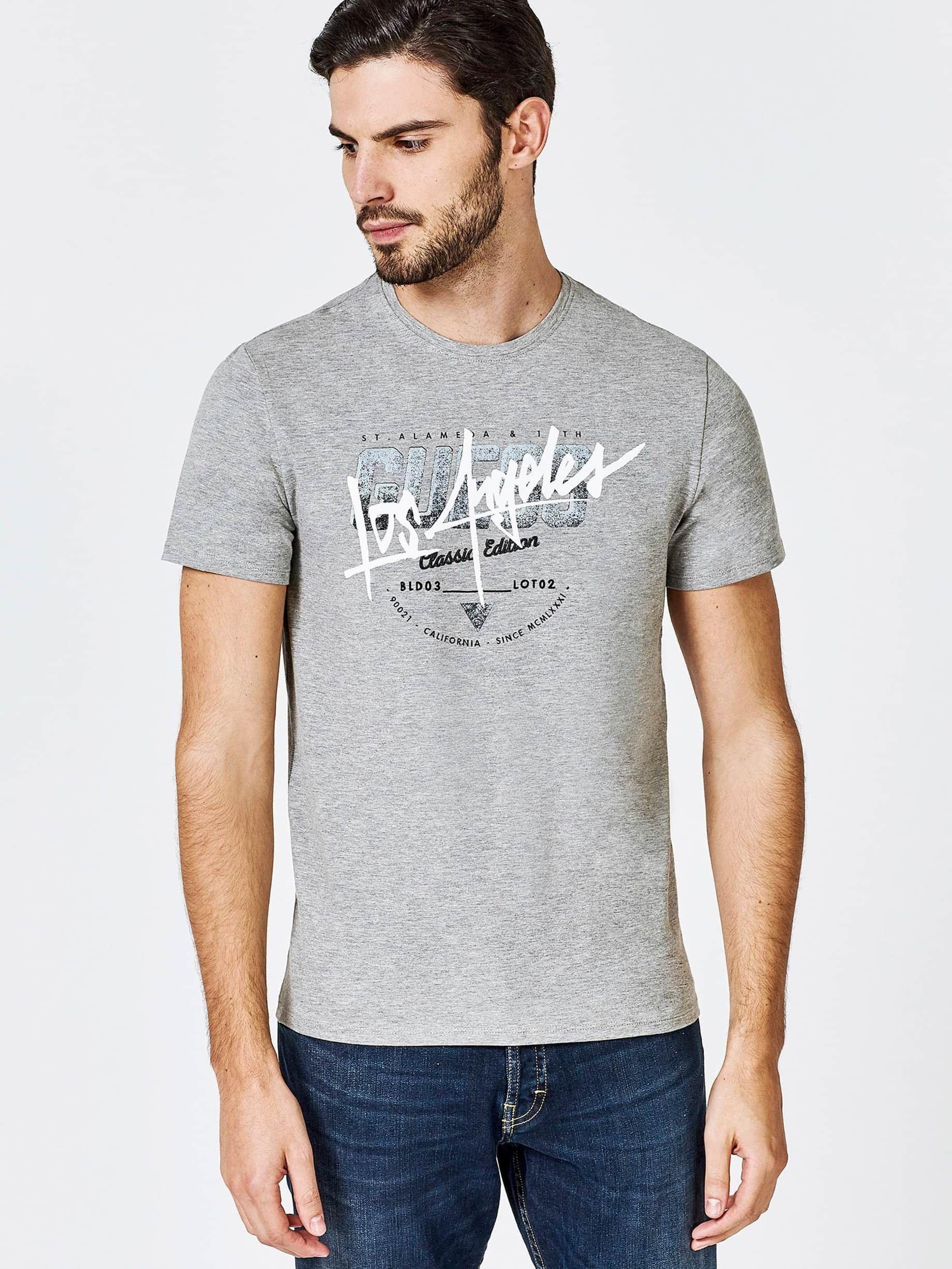Talla XS Camiseta GUESS manga corta para hombre POR SÓLO 13€