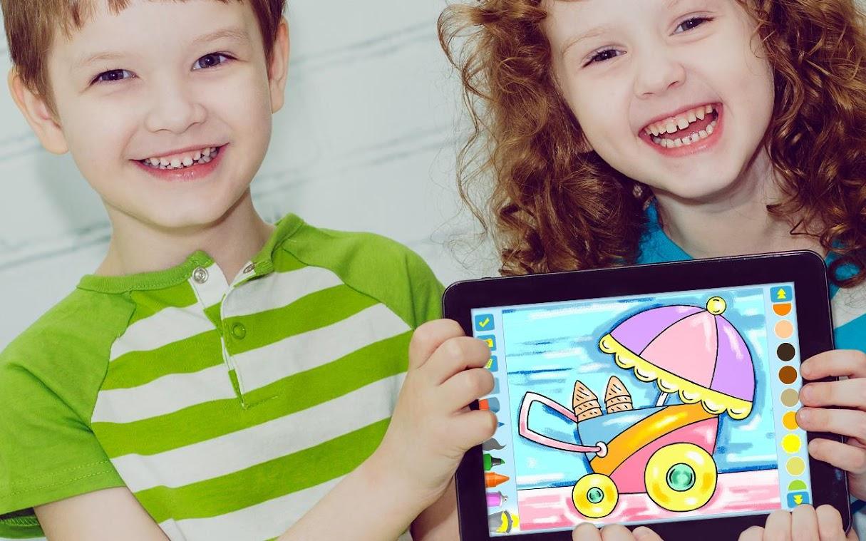 ANDROID: Libro de colorear para niños en edad preescolar (GRATIS)