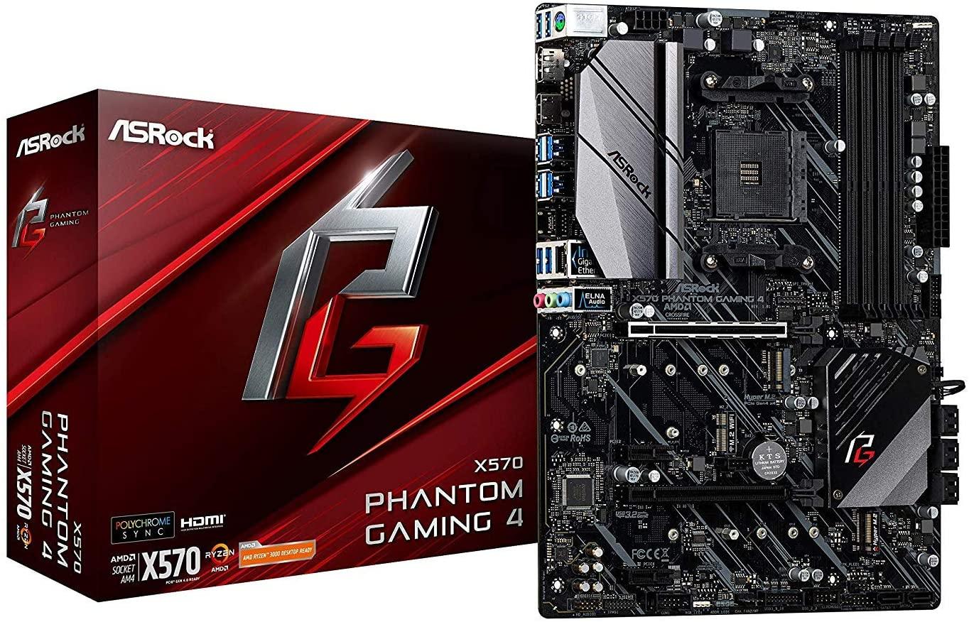 Asrock X570 Phantom Gaming 4 - Placa Base AMD AM4 Ryzen