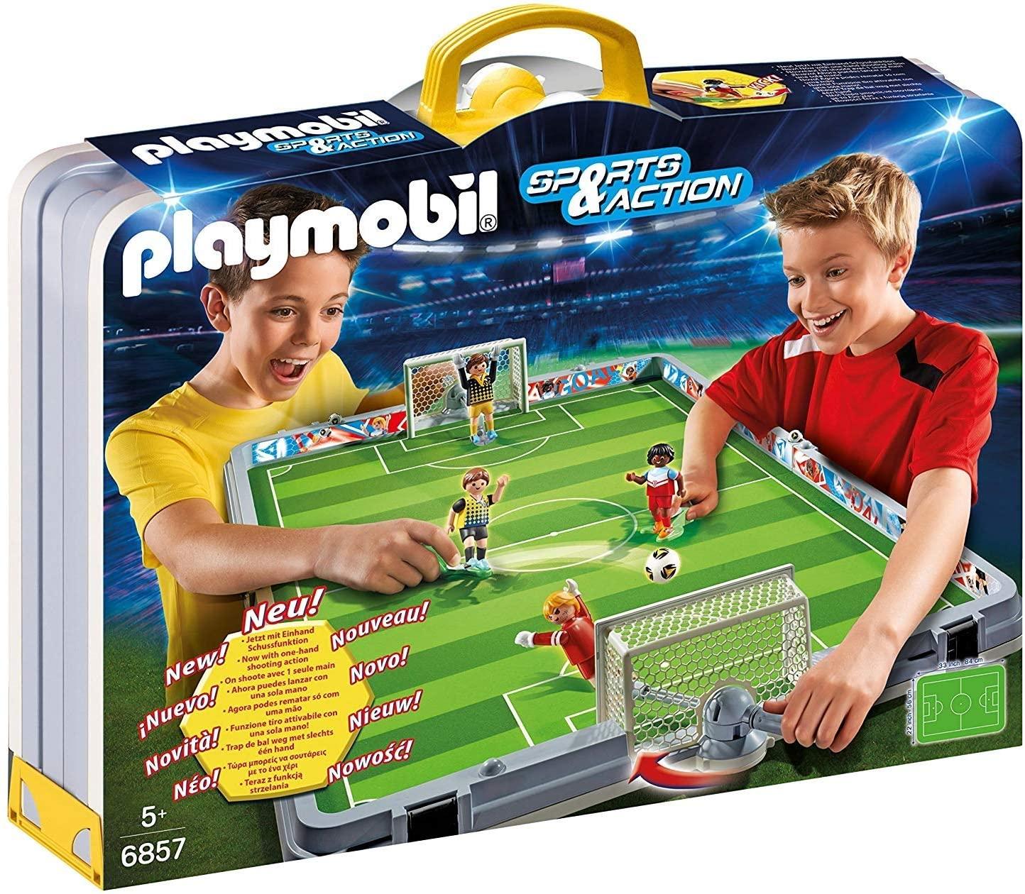 Campo de futbol Playmobil