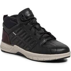 Zapatillas altas de piel para hombre GEOX por 27 y 28 euros (sólo tallas 39 y 46)