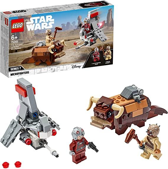LEGO Star Wars - Microfighters Saltacielos T-16 vs. Bantha