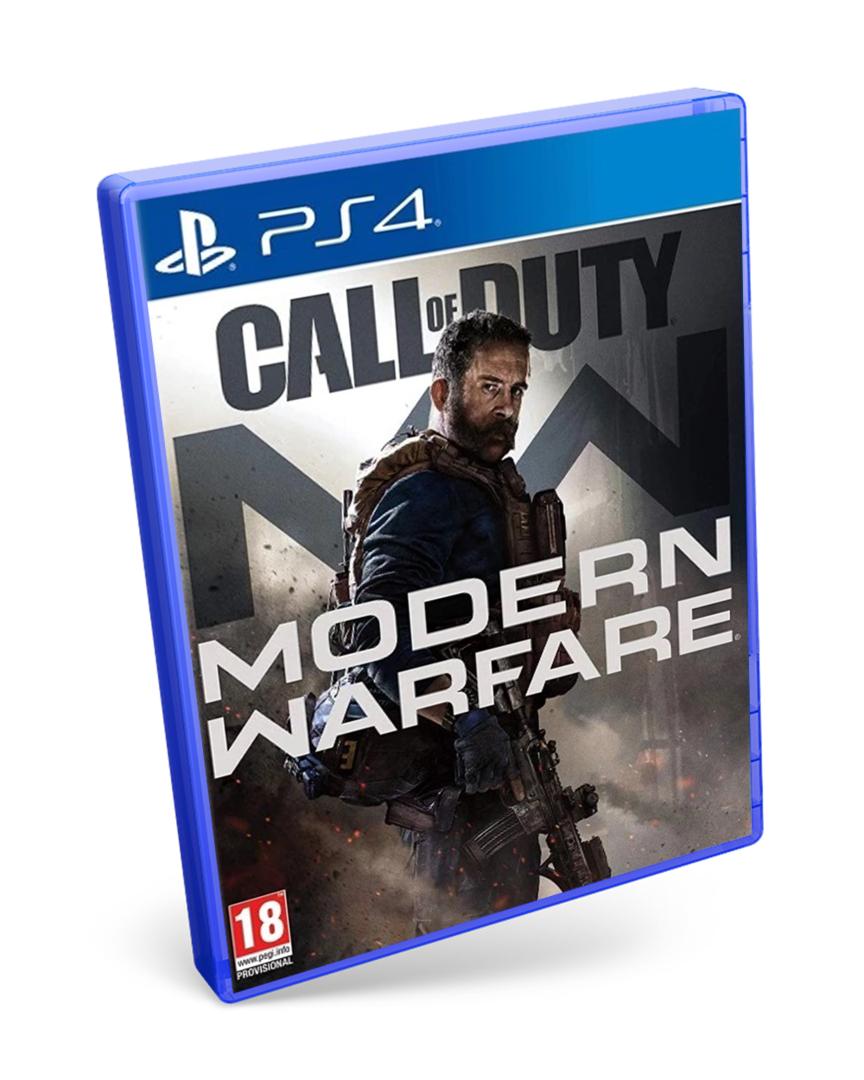 Call of duty. Modern Warfare. PS4