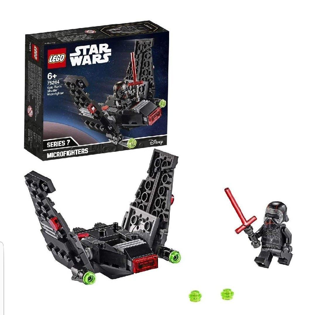 Lego Star Wars Microfighter Lanzadera de Kylo Ren.