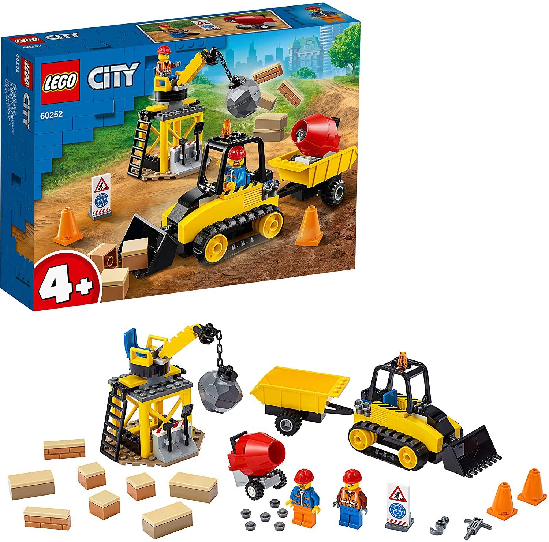 LEGO City Great Vehicles - Buldócer de Construcción,
