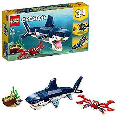 Lego Creative 3 en 1 criaturas marinas