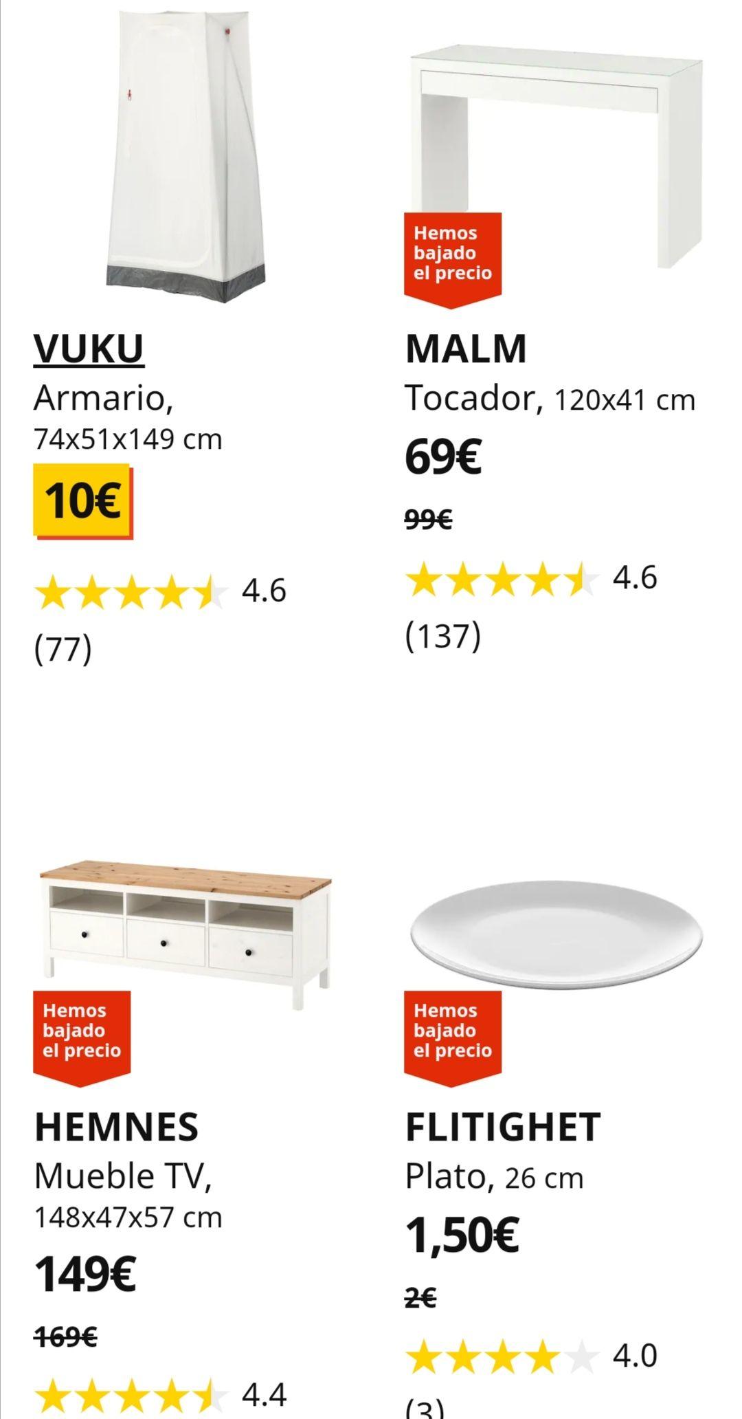 BAJADAS DE PRECIO EN IKEA