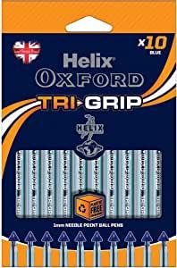 Bolígrafos Oxford Tri Grip azul