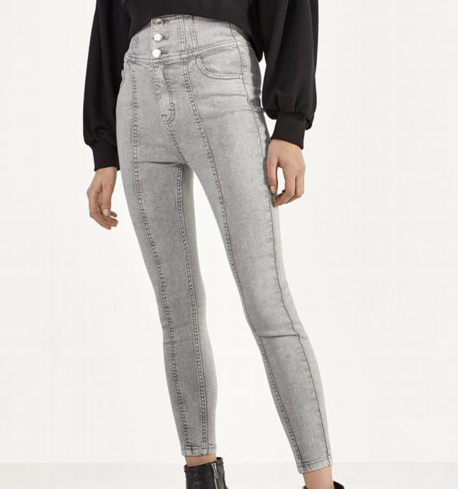 Pantalón Skinny Fit BERSHKA 2 colores