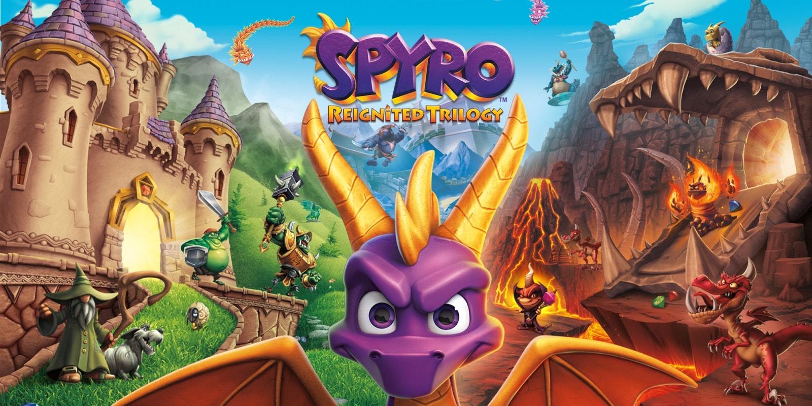 Spyro reignited trilogy para Switch (eshop)