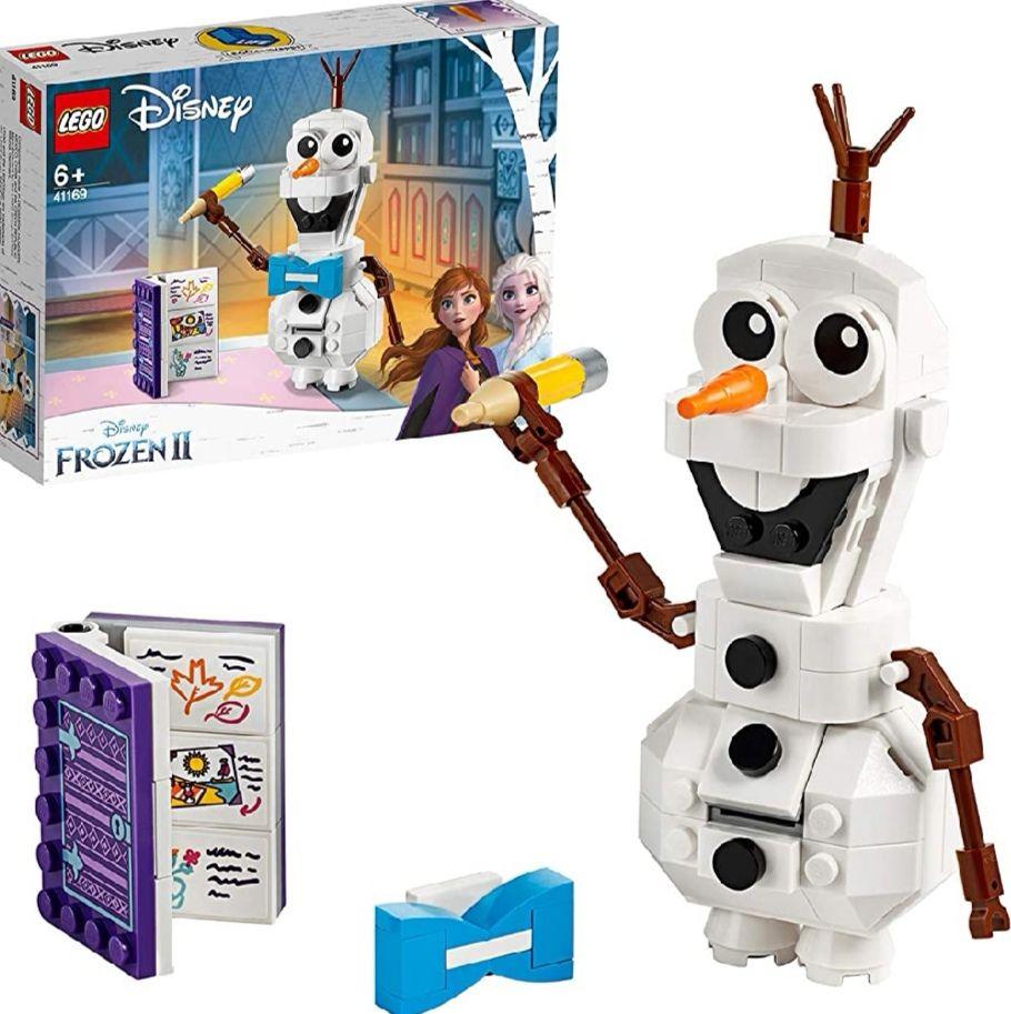 LEGO DISNEY - Figura Olaf para Construir + Accesorios (precio al tramitar)