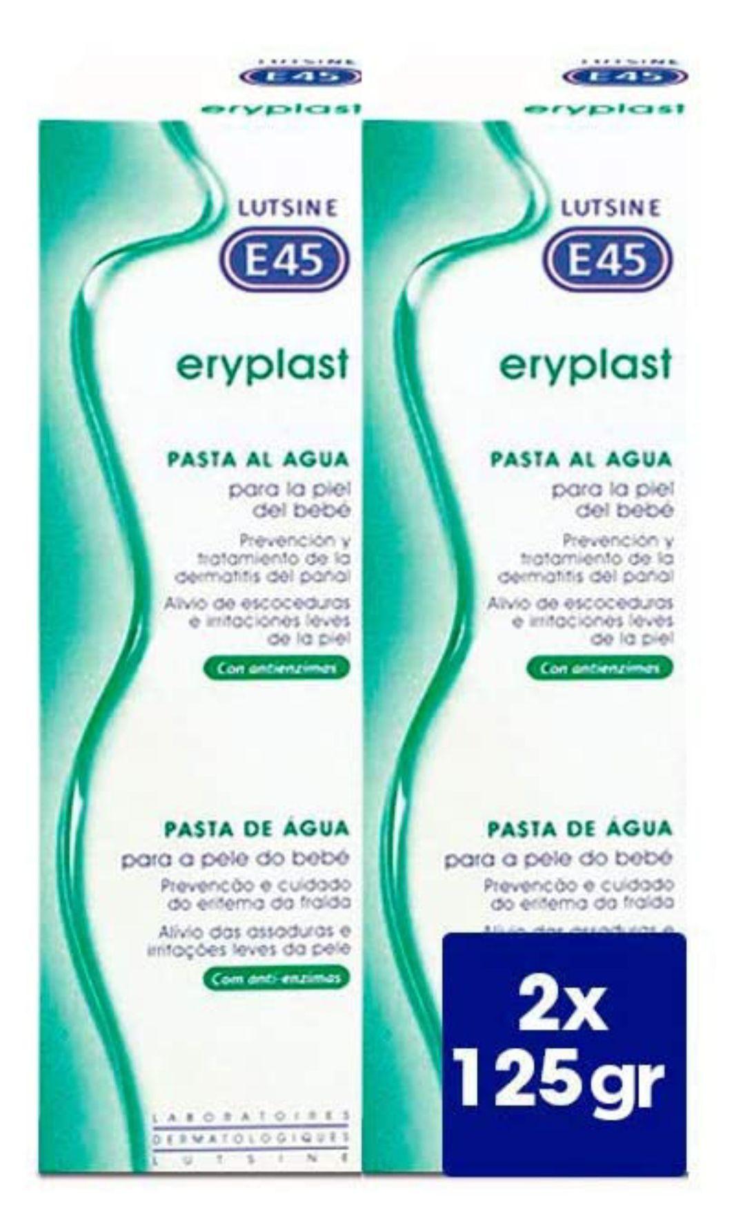 Pasta al agua Eryplast - Crema pañal bebé 2x125g