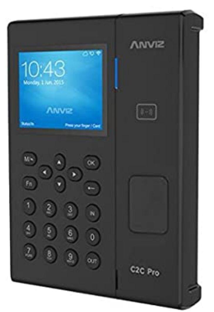 ANVIZ C2C-PRO - Sistema de asistencia de tiempo, RFID, Reaco Como nuevo