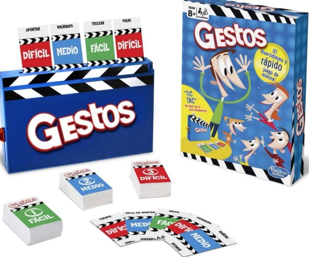 Hasbro Gaming - Juego de mesa Gestos , versión española. (precio al tramitar)