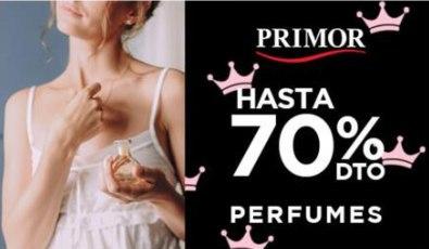 Perfumes 70% de descuento