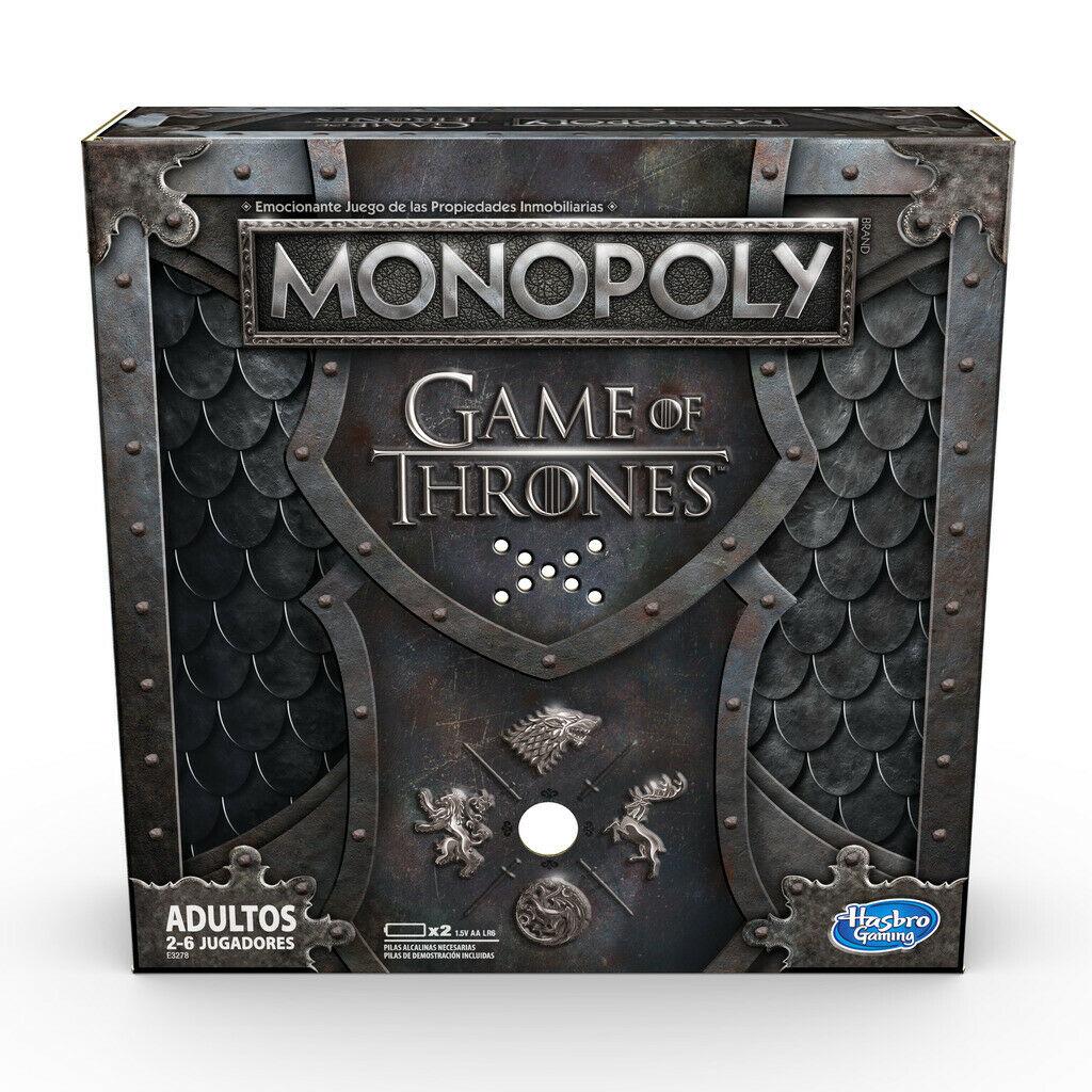 Monopoly. Juego de tronos.
