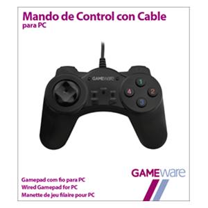 Mando compacto con cable compatible con PC. (Reacondicionado)