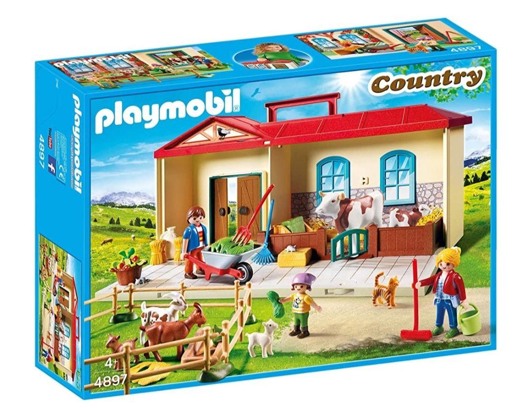 Granja Maletín Playmobil