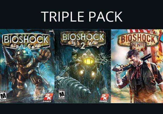 PC: Bioshock Triple Pack [STEAM] (Bioshock 1, Bioshock 2 y Bioshock Infinite)