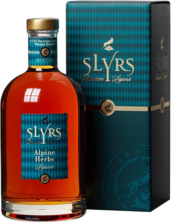 Licor Slyrs Alpine Herbs - 700 ml.