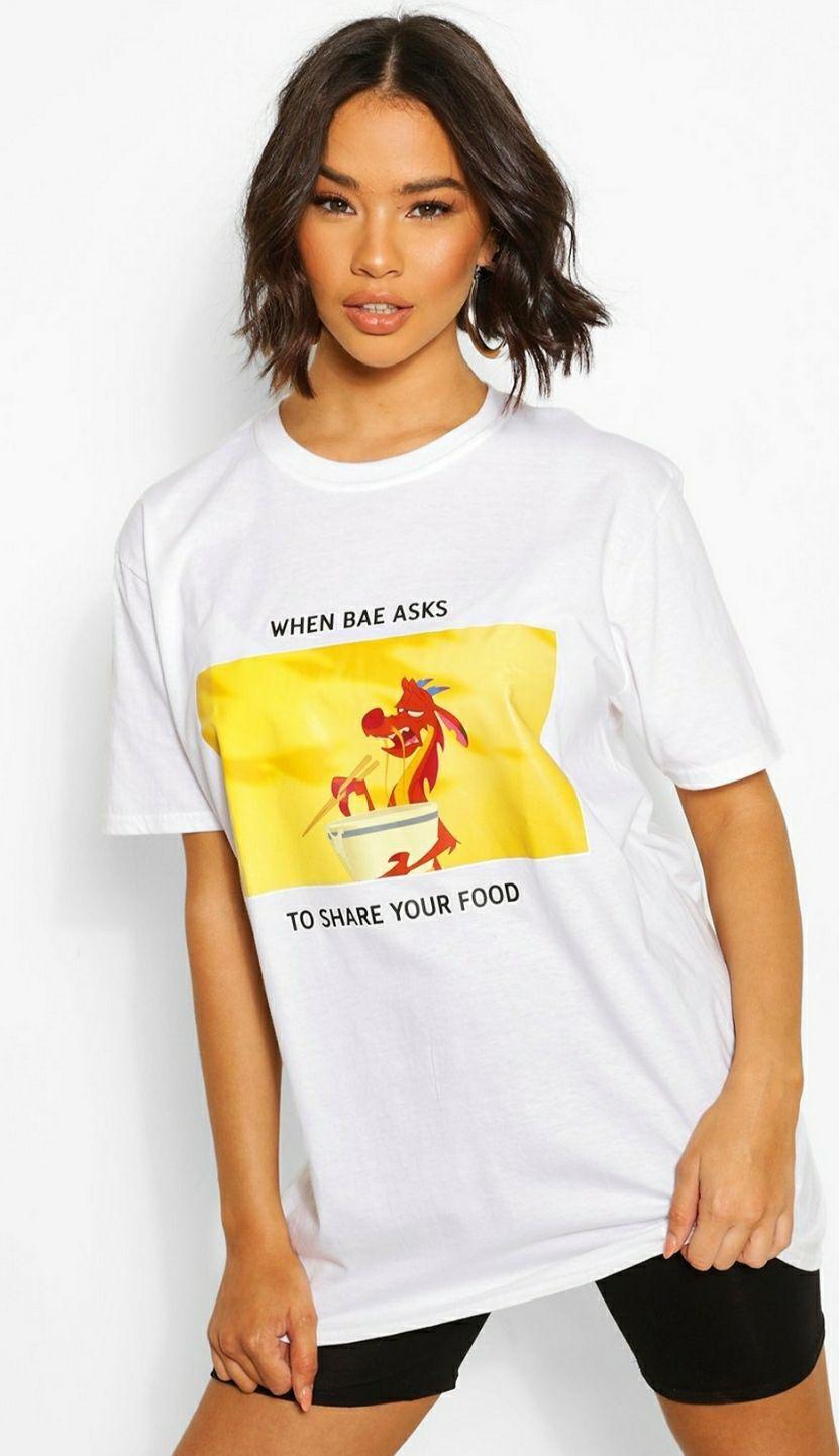 Camiseta ancha Disney Mulán