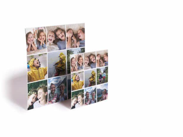 9 Imanes 5x5 personalizados con fotos
