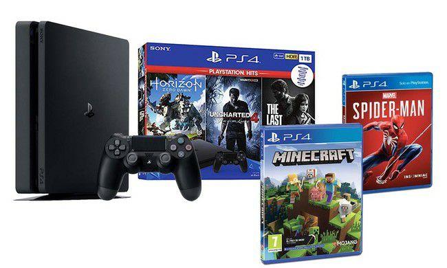 Estrena PS4 Slim de 1 TB con 5 juegazos por sólo 332,45 euros (Envío desde España)