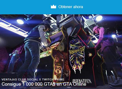 1.000.000$ GTA V Gratis