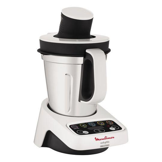 Moulinex Robot De Cocina Volupta Blanco Y Negro 1000 W