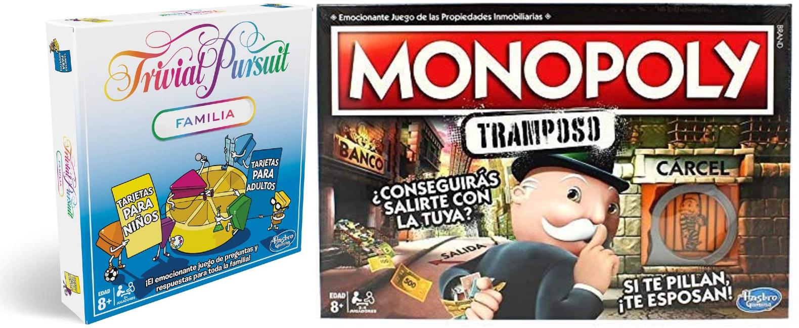 Varios juegos FAMILIARES a buen precio desde Amazon