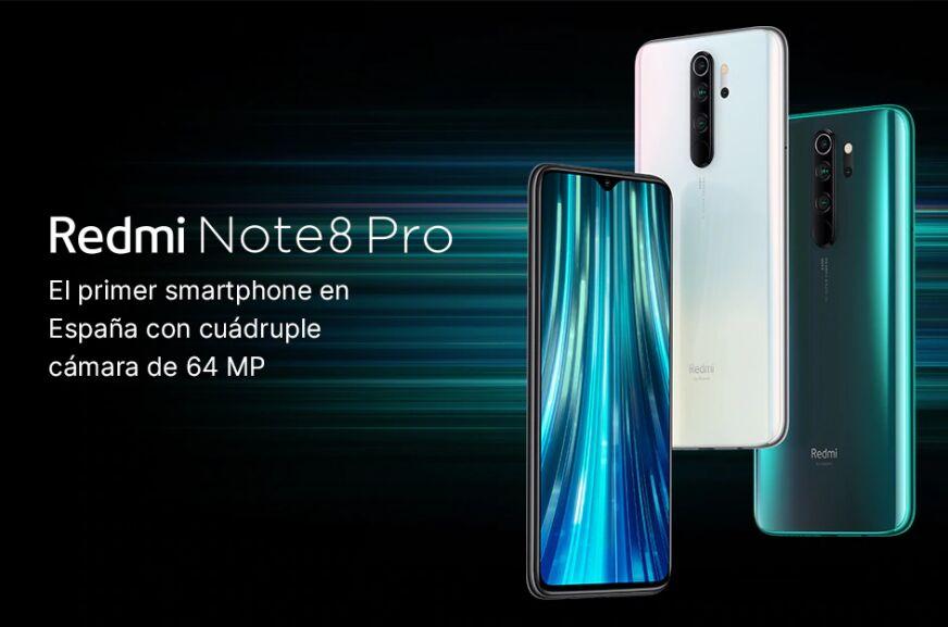 Xiaomi Redmi Note 8 Pro 6GB 64GB - Desde Amazon.es