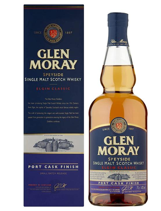 Glen Moray Whisky Port Cask Finish - 700 ml