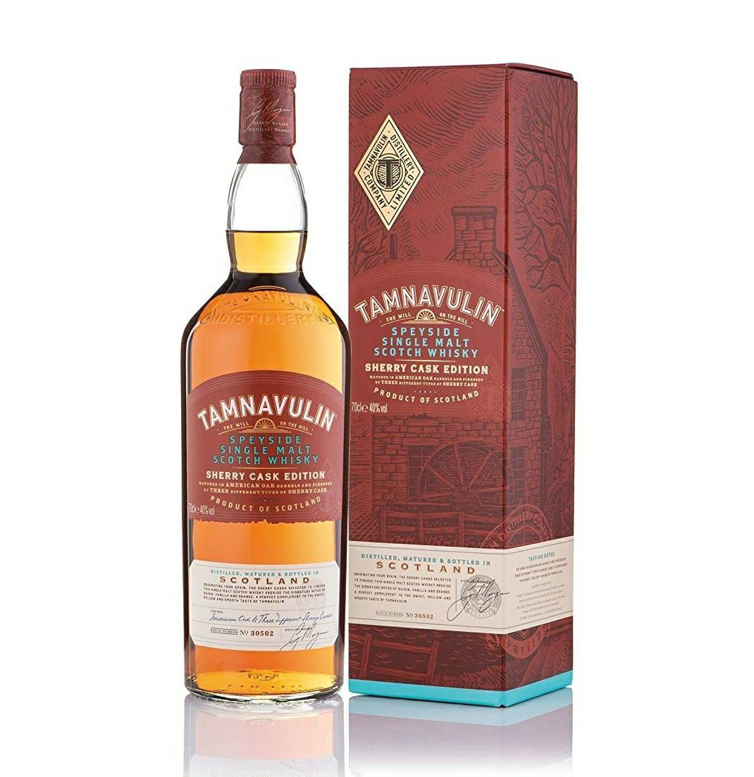 Tamnavulin Sherry Cask Whisky De Malta Escocés