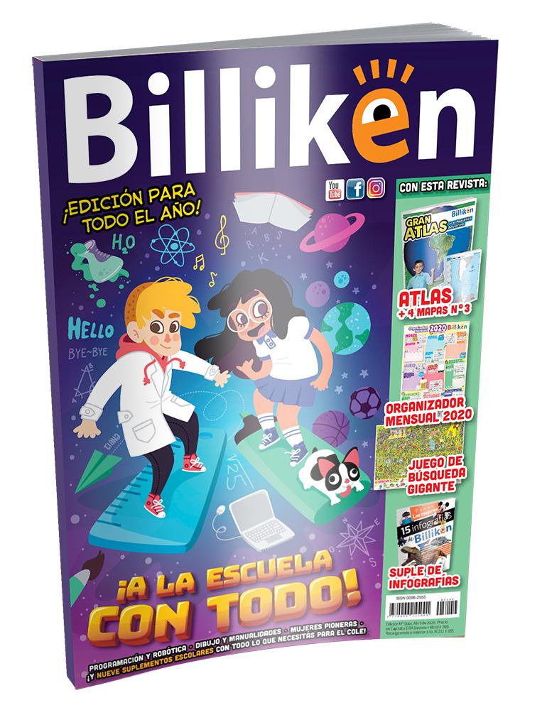 Revista infantil/juvenil Billiken (temáticas educativas y de ocio en castellano) gratis online