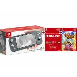 Nintendo Switch Lite gris + 90 dias de online | Ebay