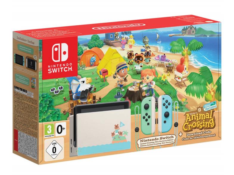 Switch Ed ANIMAL CROSSING + Animal Crossing (Mediamark Canarias)